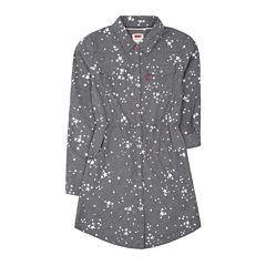 Levi's® Long-Sleeve Woven Dress - Girls 7-16