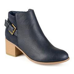 Journee Collection Teegan Ankle Booties