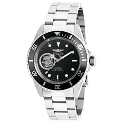 Invicta Mens Silver Tone Bracelet Watch-20433