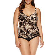 Trimshaper®  Forest Frond Cara Tankini or Side Tie Hipster