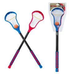 Poof Pro Gold Lacrosse Sticks 3-pc. Combo Game Set