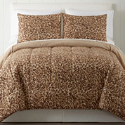 Home Expressions Cheetah 3-pc. Comforter Set