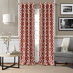 Grayson Blackout Grommet-Top Curtain Panel