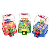 Dubble Bubble Slam Dunk Basketball Gumball Machine Dispensers: 12 Piece Box