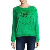 Grinch Fleece Sweatshirt- Juniors