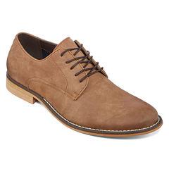 JF J. Ferrar® Swartz Mens Lace-Up Dress Derby Shoes