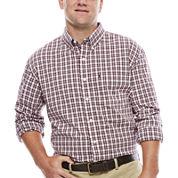 IZOD® The Advantage Long-Sleeve Poplin Shirt- Big & Tall