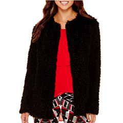 Bisou Bisou® Oversized Faux-Fur Jacket