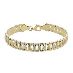 14K Two-Tone Gold Stampato Bracelet