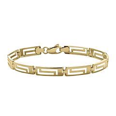 Infinite Gold™ 14K Yellow Gold Greek Key Bracelet
