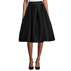 Ronni Nicole Full Tafetta Party Skirt