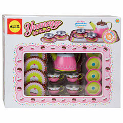 Alex Toys Yummy Tin Tea Set 15-pc. Play Food
