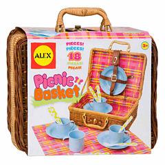Alex Toys Picnic Basket 18-pc. Play Food