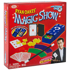 Ideal Ryan Oakes 25 Trick Magic Show Unisex 18-pc. Dress Up Accessory
