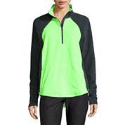 Xersion™ Brushed Fleece Half Zip Pullover