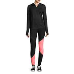 Xersion™  Quarter-Zip Pullover or Jersey Workout Pants