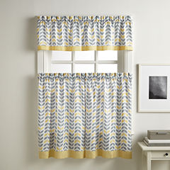 Savannah Rod-Pocket Kitchen Curtains