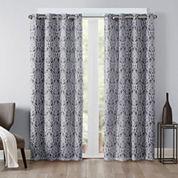 Madison Park Matera Grommet-Top Curtain Panel Blackout Grommet-Top Curtain Panel