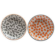 Tag Halloween Pumpkin And Boo 2-pc. Dinner Plate