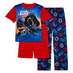 Star Wars 3-pc. Pajama Set- Boys