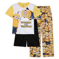 Minions 3-pc. Pajama Set- Boys 4-12
