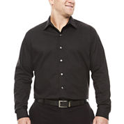 Van Heusen Long Sleeve Engineered & Printed Wovens- Big & Tall