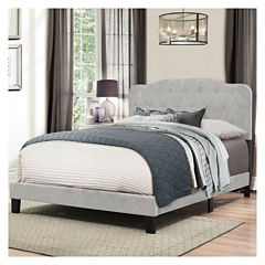 Bedroom Possibilities Charoltte Upholstered Bed