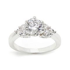 city x city® Cubic Zirconia Three-Stone Ring