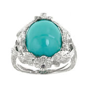 LIMITED QUANTITIES  Genuine Turquoise and Pink Sapphire Ring