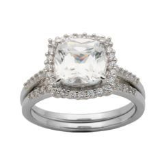 Cubic Zirconia Fine Rings for Jewelry Watches JCPenney