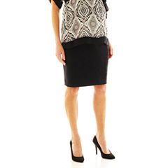 duo™ Maternity Overbelly Pencil Skirt