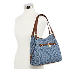 Liz Claiborne Heather 4-Poster Shoulder Bag