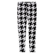 Total Girl Hearts Knit Leggings - Big Kid Girls