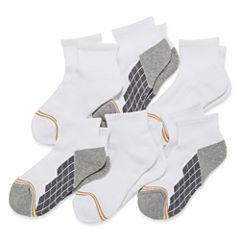 GoldToe 6-pk. Ultra Tec Quarter Socks- Boys