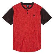Zoo York Short Sleeve Henley Shirt - Big Kid