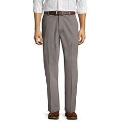 St. John's Bay® Easy-Care Classic Flat-Front Pants