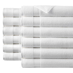 JCPenney  Home™  Commercial Set of 12 Bath Towels