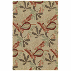 Kaleen Home And Porch Tropical Hand Tufted Rectangular Rugs