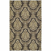 Kaleen Home And Porch Medallion Hand Tufted Rectangle Accent Rug