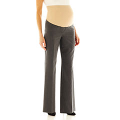 duo™ Maternity Overbelly Wide-Leg Career Pants
