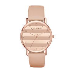Arizona Womens Pink Strap Watch-Fmdarz133