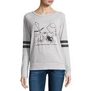 Peanuts Burnout Sweatshirt- Juniors