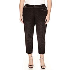 Worthington Ankle Pants-Plus