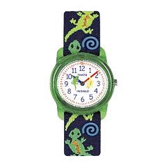 Timex® Easy Reader Kids Print Fabric Strap Watch T728819J