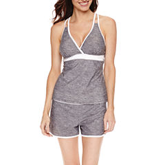 Free Country ® Racerback Tankini or Sporty Shorts