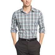 Van Heusen Long Sleeve Flex Slim Fit Non Iron Stretch Button-Front Shirt