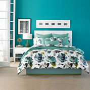 Q by Queen Street® Mia Floral Comforter Set & Accessories