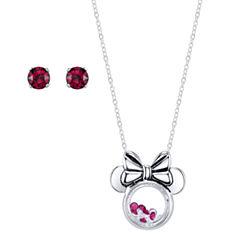 Disney Silver Over Brass Jewelry Set