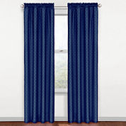 Eclipse® Kids Polka Dots Rod-Pocket Thermal Blackout Curtain Panel