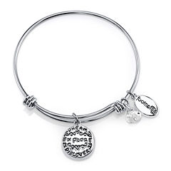 Footnotes Too® Stainless Steel Dream Bangle